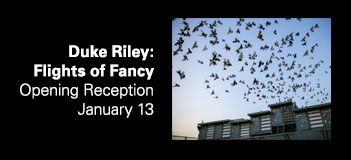 Duke Riley: Flights of Fancy Opening reception, January 13, 7-9pm. image: Duke Riley, Fly By Night, photo by Tod Seelie, courtesy of Creative Time